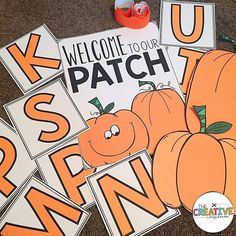 Working on my Fall Bulletin Board Set right now so I'm ready in October! Did you know that the sign and pumpkins are multiple pages pieced together to make larger posters for display? The directions for poster printing are included in my Creative Bulletin Board sets! Link in bio for the pumpkin board! 🎃🎃🎃 #teacherspayteachers #teachersofinstagram #teachersfollowteachers #iteachtoo #classroomdecor #bulletinboard #teachersofig #teachersoftpt #iteachk #iteachfirst #iteachsecond #iteach345