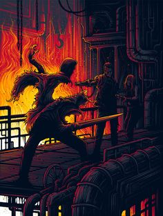Terminator 2: Judgment Day Illustrations by DAN MUMFORD