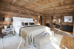 shimmering shades of champagne | Catered Ski Chalet Lech / Zurs: Chalet N