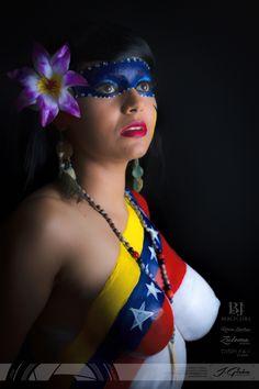 """Exposición de Maquillaje corporal """"Madre Tierra Venezuela"""" en clave baja. -- Modelo: Cory Salgado Facebook: www.facebook.com/mixyo -- Fotografía: Jainner J. Giron L. • J.Girón [Fotografía & Diseño] Facebook: www.facebook.com/JGironFoto Instagram: www.instagram.com/JGironFoto @JGironFoto www.JGiron.com"""