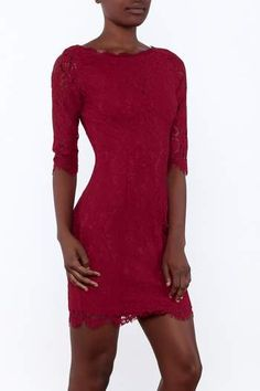 Valentines Day Dresses, Red Lace, Lace Dress, Lifestyle, Elegant, Stuff To Buy, Wine, Top, Shopping