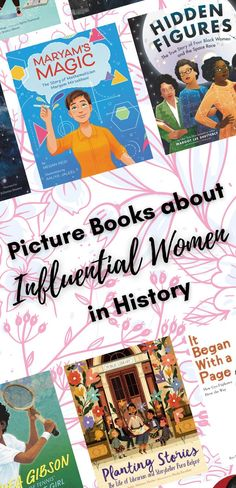 Celebrate Women's History Month with these nonfiction biography picture books for young readers.
