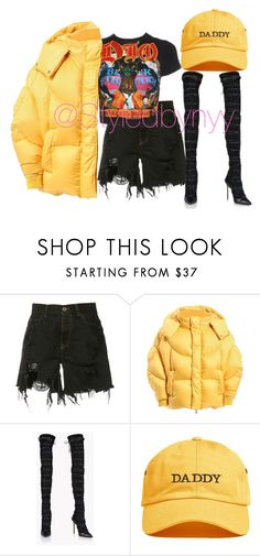 """""""Untitled #194"""" by nyarahb ❤ liked on Polyvore featuring Faith Connexion, Dilara Findikoglu, Chen Peng and Dsquared2"""