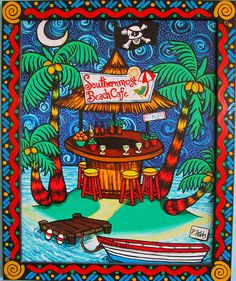 Key West Colors Design | ... in Southernmost Beach Cafe & Bar, Key West | Flickr - Photo Sharing