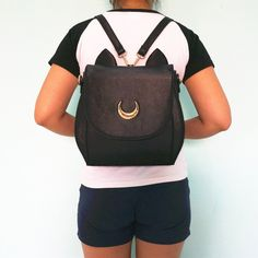 Want a cute Luna Backpack? - This is perfect for any Sailor Moon lovers! - While Supplies Last! Limit 10 Per Order Please allow 4-6 weeks for shipping Item Type: Backpack Material: High Quality faux l