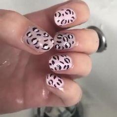 Soft Pink Nails, Matte Pink Nails, Leopard Nails, Pink Nail Art, Yellow Nails, Purple Nails, White Nails, Bright Summer Acrylic Nails, Fall Acrylic Nails