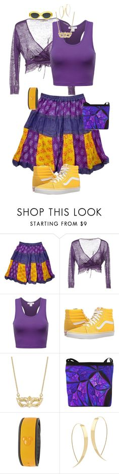 """""""Park Ready Clopin"""" by carlyamanda58 ❤ liked on Polyvore featuring SCERVINO STREET, Vans, Kate Spade, Disney, Dries Van Noten and Lana"""