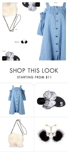 """""""NewChic"""" by s-thinks ❤ liked on Polyvore featuring Diane Von Furstenberg and ootd"""