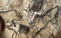 These are the oldest paintings known to man.   Left by prehistoric artists more than 30,000 years ago, they are located  inside the Chauvet-Pont-d'Arc Cave in Southern France, which has been closed to the public since its discovery in 1994.