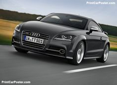 Audi TTS Coupe competition 2013 poster, #poster, #mousepad, #Audi