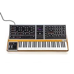 Moog One is the ultimate Moog synthesizer - a tri-timbral, polyphonic, analog dream-synth designed to inspire imagination, stimulate creativity, and unlock portals to vast new realms of sonic potential. Moog Synthesizer, Recording Studio Design, Music Instruments, Easy, Musical Instruments