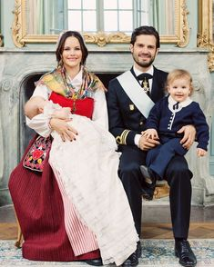 The official photos of the christening of HRH Prince Gabriel of Sweden