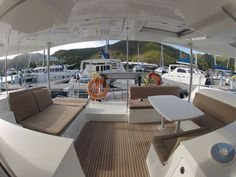 The Lagoon 450 is the ultimate catamaran for your next family sailing vacation in the BVI. The cockpit and saloon become an open area perfect for family & friends