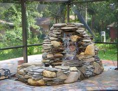 Terrific L Rg Ligh Rock Oun In Adorable garden fountain