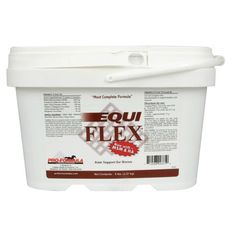Equi-Flex - 5 pounds for a 3.75 pound price!! by UCKELE HEALTH & NUTRITION INC. $64.95. Equi Flex is a natural body lubricant that helps your horse's body maintain the nutrients found in healthy joints and connective tissue. Equi-Flex provides 5000 mg MSM, 3000 mg chondroitin sulfate, 200 mg super oxide dismutase, 100 mg sodium hyaluronate (HA), 40 mg mangansese ascobate and 140 mg buffered Vitamin C, crucial for absorption. For initial loading phase, feed 60-...