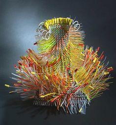 Contemporary basketry: Helter Skelter, Emily Dvorin