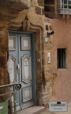 There are so many beautiful medieval buildings and architectural details in Le Puy-en-Velay in the Haute-Loire, France.