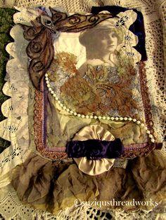 Suziqu's Threadworks: Fabric Lacebook Round Robin Collaborative
