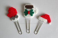 Christmas Planner Planner Clip Santa Claus by Ricamoeplasticcanvas