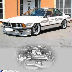 E24 Alpina B7 Turbo - This was launched a long time before the M635csi was born.  #alpina #bbs #bmw