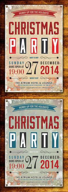 Christmas Party Flyer Template http://graphicriver.net/item/christmas-party-flyer-template/9279999?ref=colorfuldesign