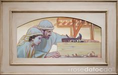 """Ten Year Retrospective Exhibition, """"Jesus Once Was a Little Child"""": Images from the Early Years of the Savior by Rose Datoc Dall"""
