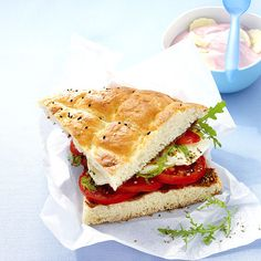 Turks brood caprese Recept | Weight Watchers Nederland