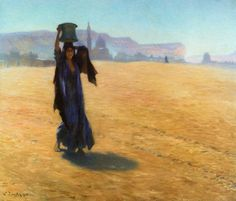 the Water Carrier - Ludwig Deutsch