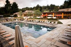 Relax poolside at Topnotch Resort #IWannaGo #Vermont