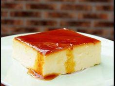 Pasteles de colores: Flan de queso