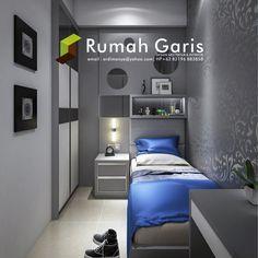 desain interior kamar anak teen bedroom apartemen