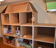 Our American Girl house...phase 1