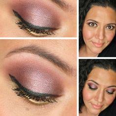 Rouge Bunny Rouge Smoky Purple Eyeshadow Inspiration - #eyes #eyeshadow #eyemakeup #purpleshadow #smokey #paintedladies - Bellashoot.com (iPhone, iPad & Web)