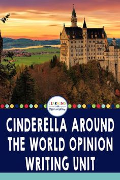 This blog post outlines a perfect Cinderella Around the World unit for first grade. Includes details on how to create an anchor chart to teach character, setting, and plot as you read these fun stories as well as writing activities to teach 1st grade opinion writing standards. Reading Lessons, Writing Lessons, Guided Reading, Kindergarten Writing, Kindergarten Activities, Hands On Activities, Writing Activities, Literary Elements, Opinion Writing
