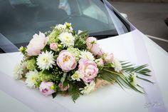 Ventouse de voiture coordonné au bouquet (A tout fleur à Canet)