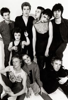 What a lovely family - I never saw Sex Pistols, but I did see Siousxie twice