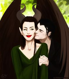 maleficent and diaval - Google Search