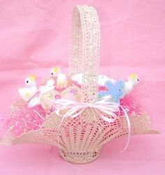 Free Crochet Easter Basket Patterns | crochet videos for easter baskets