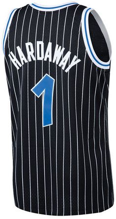 41a12ced9 Mitchell   Ness Men s Penny Hardaway Orlando Magic Hardwood Classic  Swingman Jersey - Black S