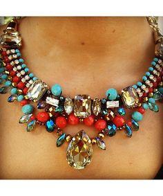 Aztec Statement Necklace-$32.50 https://shoplately.com/product/231179/aztec_statment_necklace
