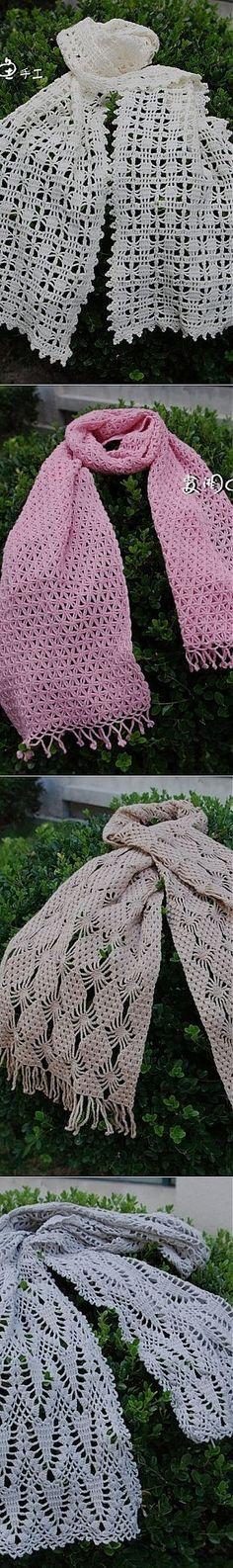Schemes of scarves hook