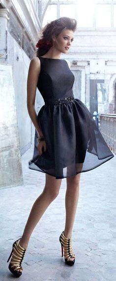 Uhc0069, black homecoming dress, oganza homecoming dress, A-line, short prom dress, charming prom dress, for teens
