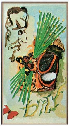 10 Wands (Dali Universal Tarot)