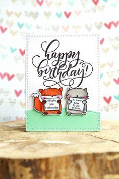 birthday wishes {mama elephant} | Elena Roussakis