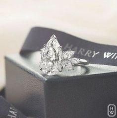 35 New ideas wedding rings teardrop stones