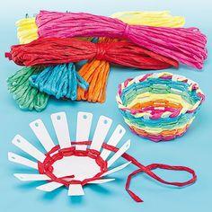 Basket Weaving Kits #artsandcraftsforgirlsage6,