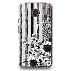 CasesByLorraine Vintage Striped Floral Wood Print B&W PC Case Hard Back Case Cover for Motorola Moto X 2nd Generation (S05) CasesByLorraine http://www.amazon.com/dp/B00UN23ATI/ref=cm_sw_r_pi_dp_fgIevb096ZSMF