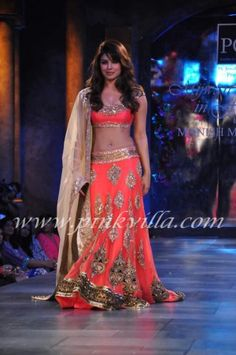 Indian Bridal wear....love the color and embroidery work