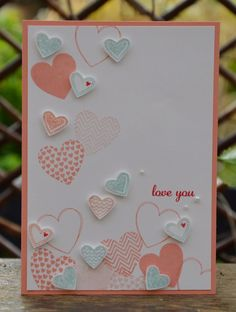 Love this clean and simple Valentine card.