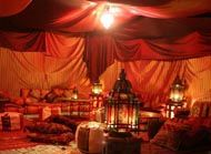 Moroccan theme chillout